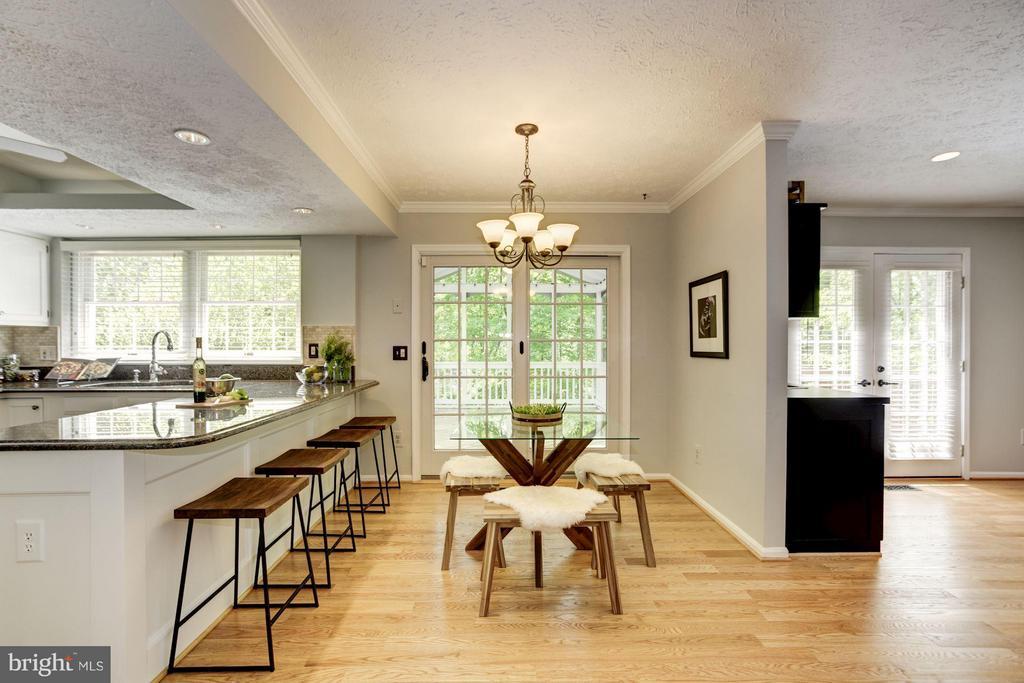Kitchen - 1329 QUAIL RIDGE DR, RESTON