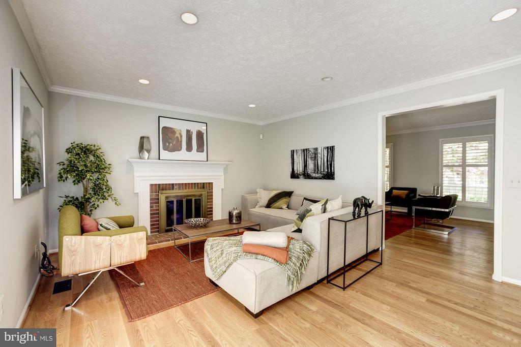 Family Room - 1329 QUAIL RIDGE DR, RESTON