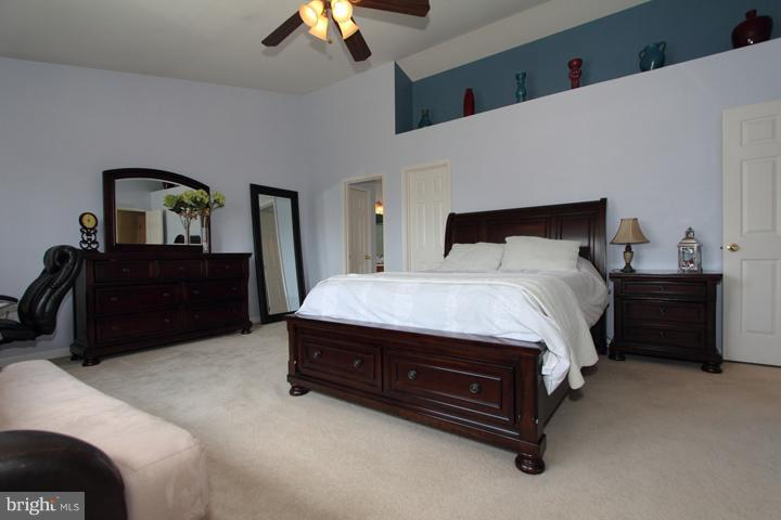 Spacious Master Bedroom - 402 HANRAHAN CT SE, LEESBURG