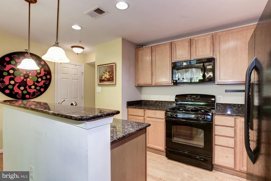 Kitchen with plenty of Cabinet Space - 15246 ROSEMONT MANOR DR, HAYMARKET