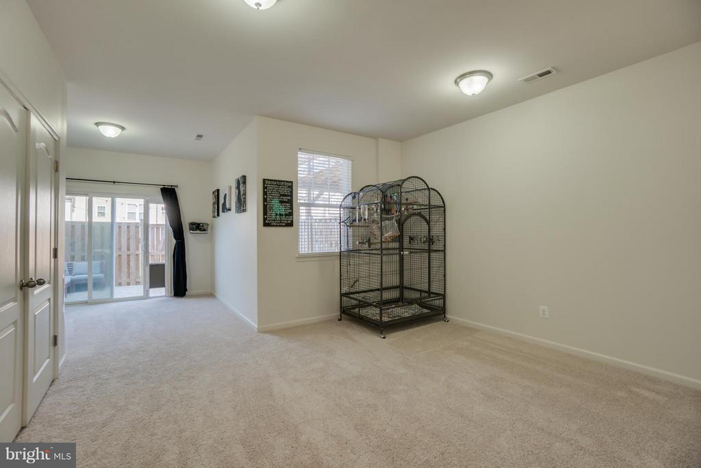 Finished Recreation Room, New Carpeting - 117 DANDRIDGE CT #48, STAFFORD