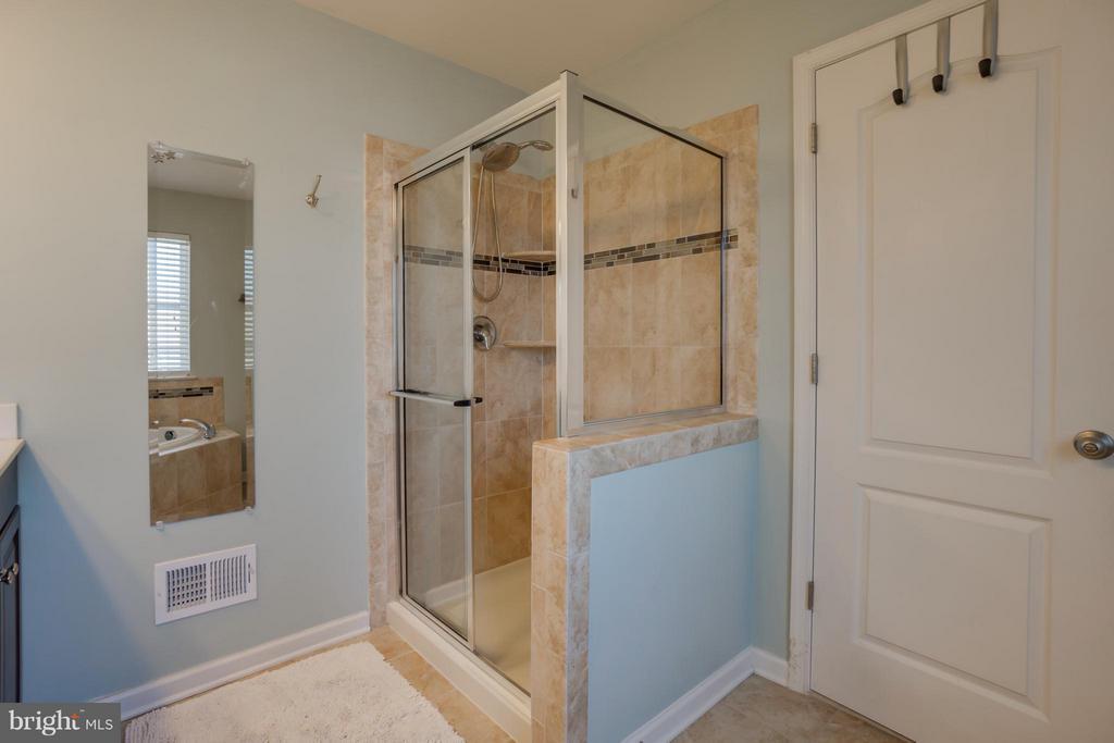 Separate Shower - 117 DANDRIDGE CT #48, STAFFORD
