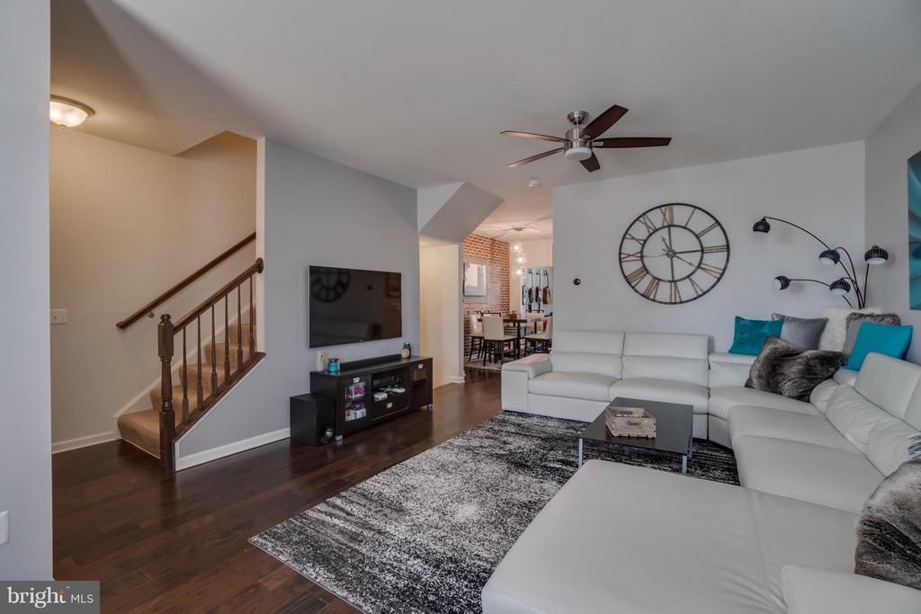 Wood Floors, Ceiling Fan - 117 DANDRIDGE CT #48, STAFFORD