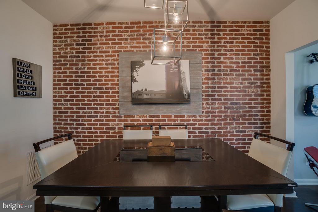 Eat-in Kitchen Table Space - 117 DANDRIDGE CT #48, STAFFORD