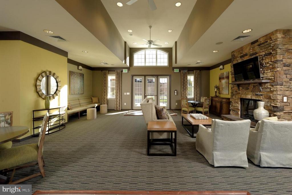 Club House Interior - 117 DANDRIDGE CT #48, STAFFORD