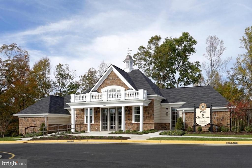 Community Club House - 117 DANDRIDGE CT #48, STAFFORD