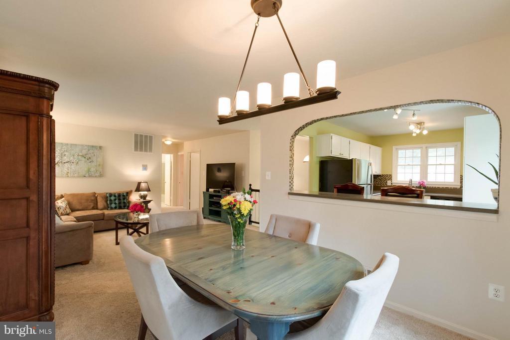 Dining Room - 12699 GREENHALL DR, WOODBRIDGE