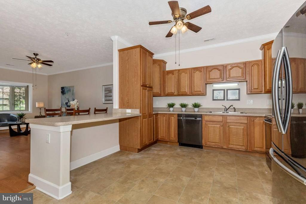 Huge kitchen! - 13075 LITTLE HAYDEN CIR, HAGERSTOWN