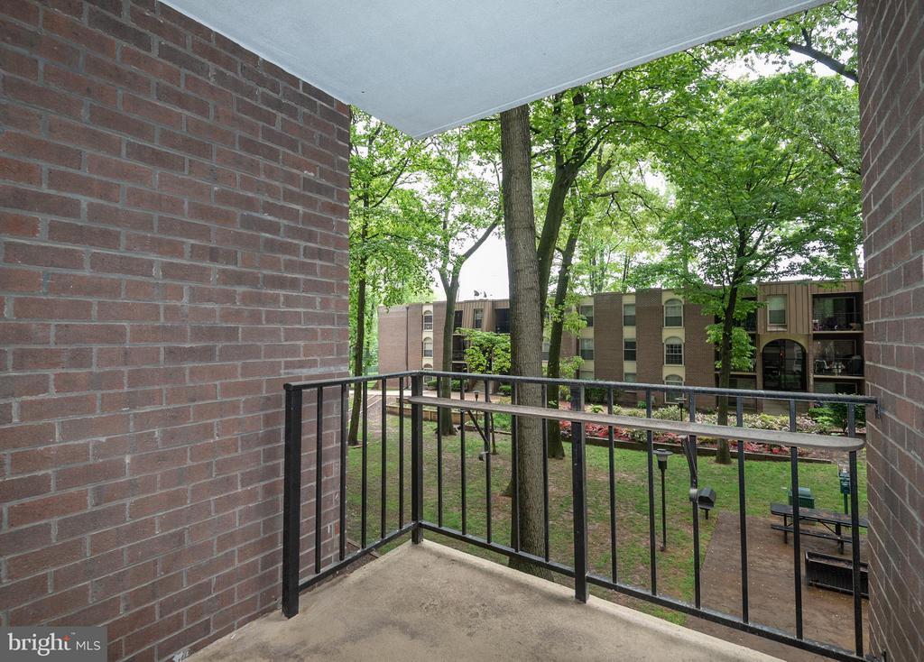 Exterior (Rear) - 3360 WOODBURN RD #23, ANNANDALE