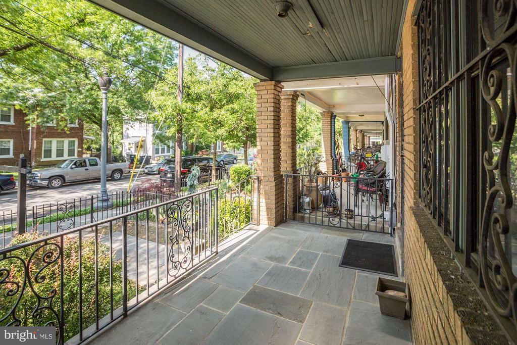 Slate Floor on Front Porch & Sidewalk - 334 CHANNING ST NE, WASHINGTON