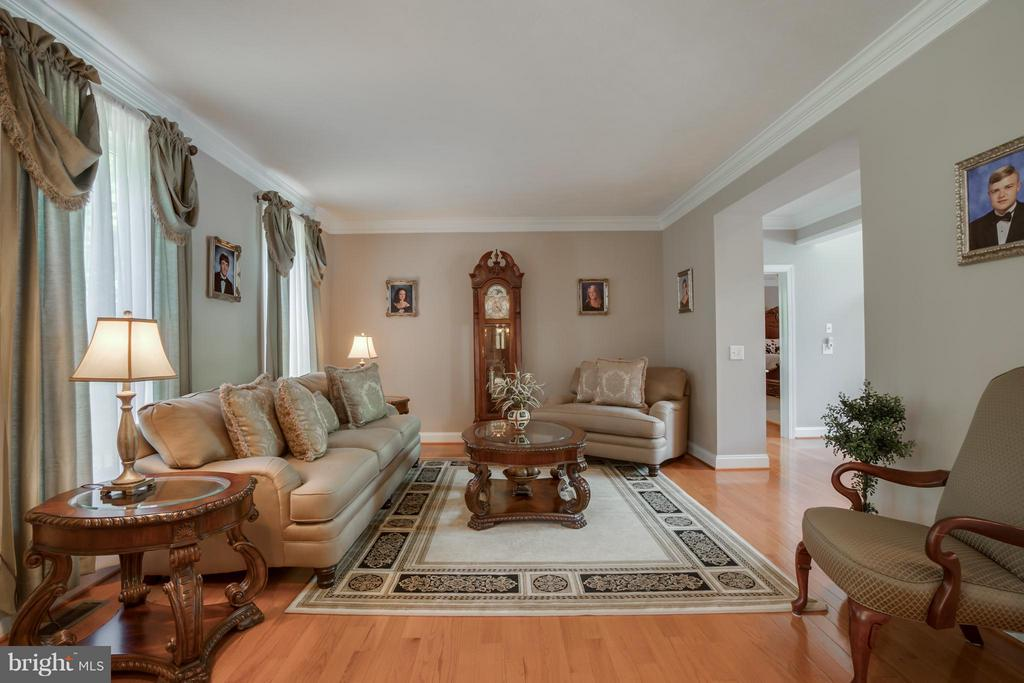 Living Room - 7320 TANGLEWOOD RD, SPOTSYLVANIA