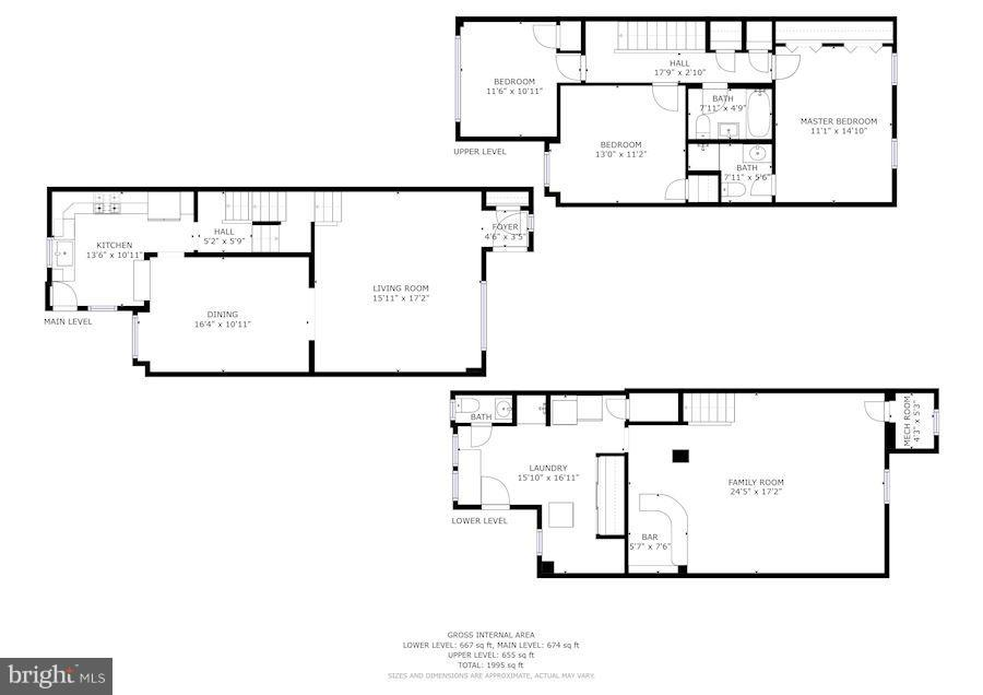 floor plans - 3823 CALVERT ST NW, WASHINGTON