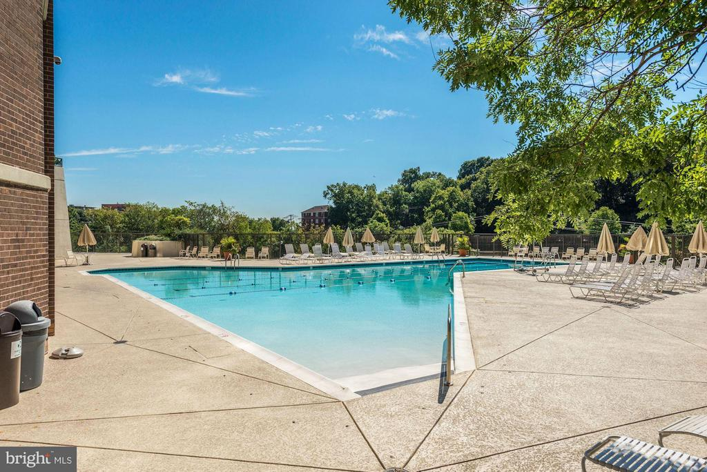 Outdoor Pool - 1600 OAK ST N #708, ARLINGTON