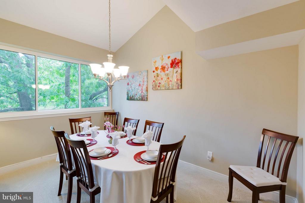 Dining Room - 11204 CHESTNUT GROVE SQ #305, RESTON
