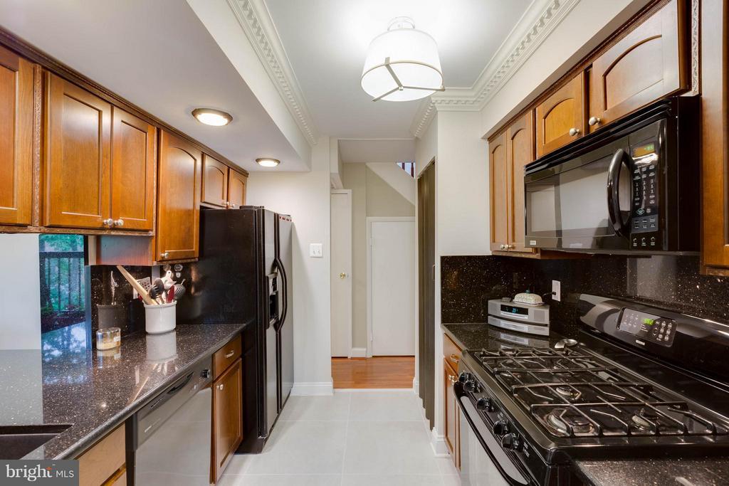 Kitchen - 11204 CHESTNUT GROVE SQ #305, RESTON