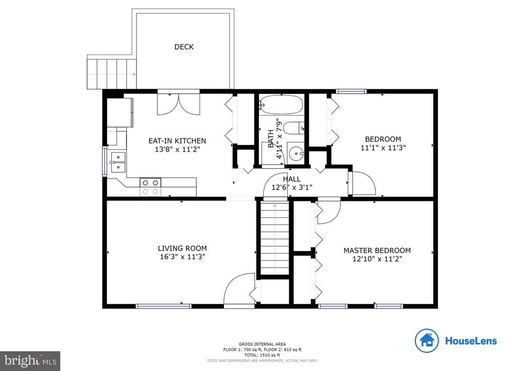 Main Level Floor Plan - 568 ROCKBRIDGE DR SE, LEESBURG