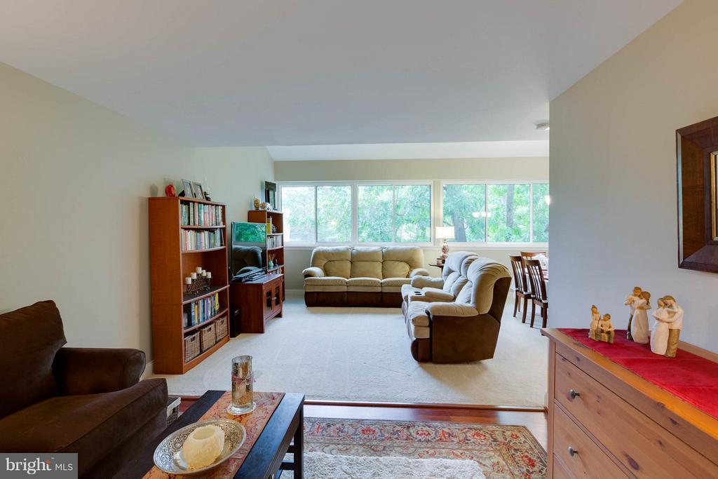 Living Room - 11204 CHESTNUT GROVE SQ #305, RESTON