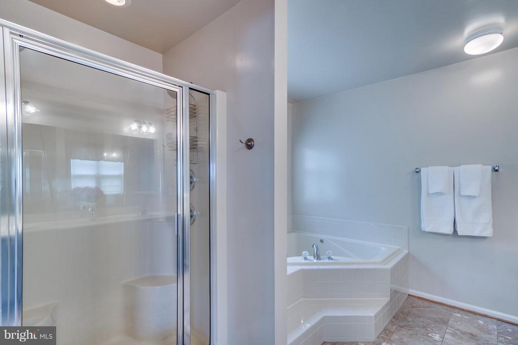 Separate Shower & Soaking Tub - 38 BELLS RIDGE DR, STAFFORD