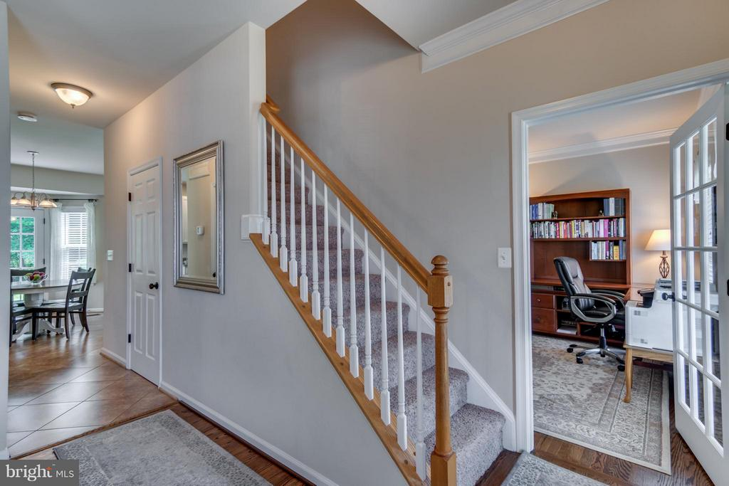 French Doors off Foyer lead to Office/Study/Den - 38 BELLS RIDGE DR, STAFFORD