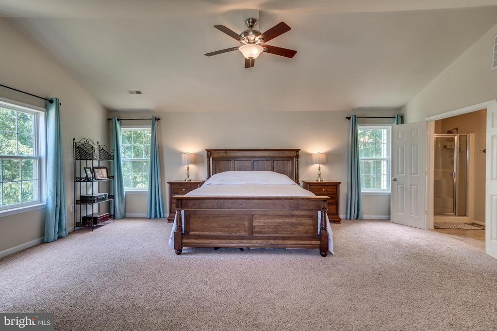 Cathedral Ceiling, Fan and lots of Natural Light - 38 BELLS RIDGE DR, STAFFORD