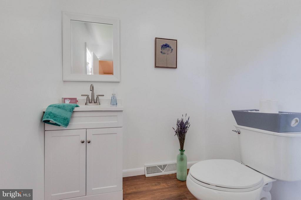 Just installed new ensuite master bath - 5719 MOUNT PHILLIP RD, FREDERICK