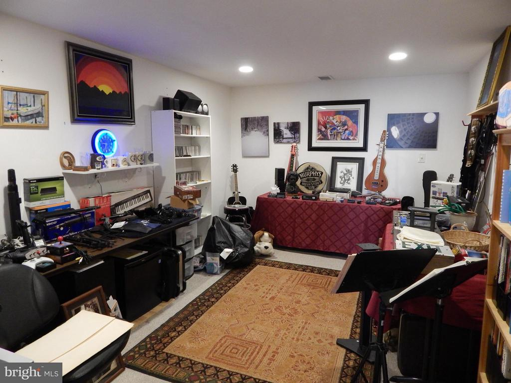 Basement Den, used as Recording Studio - 6017 WATERMAN DR, FREDERICKSBURG