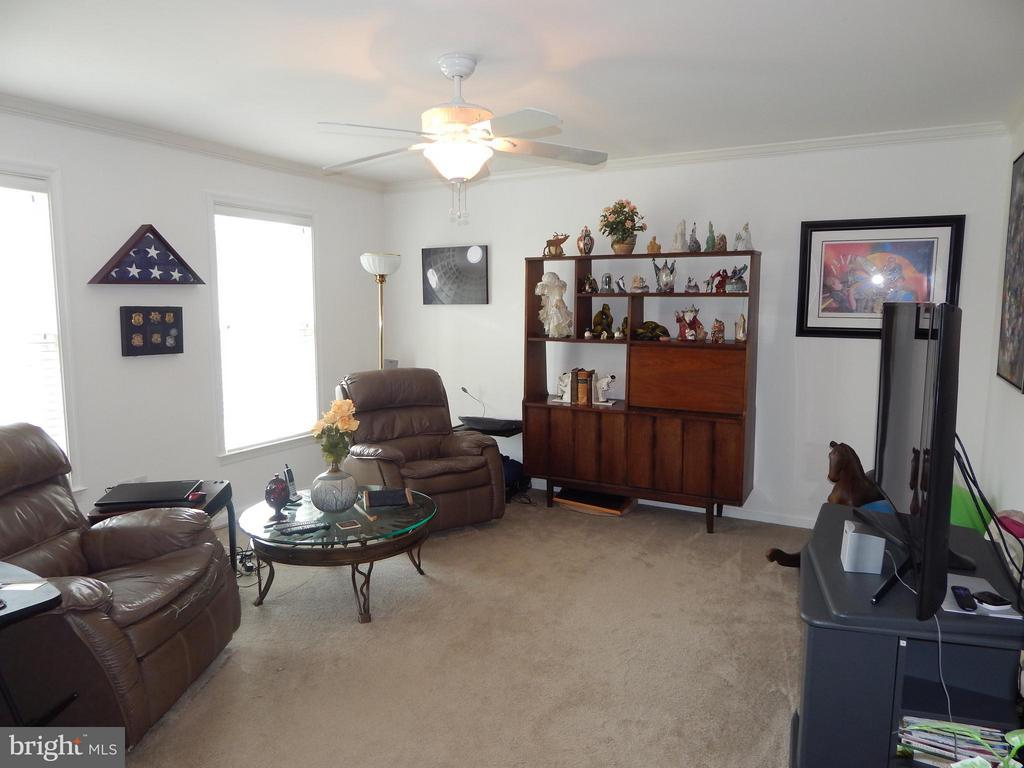 Living Rm, used as Den, accessed from Foyer - 6017 WATERMAN DR, FREDERICKSBURG