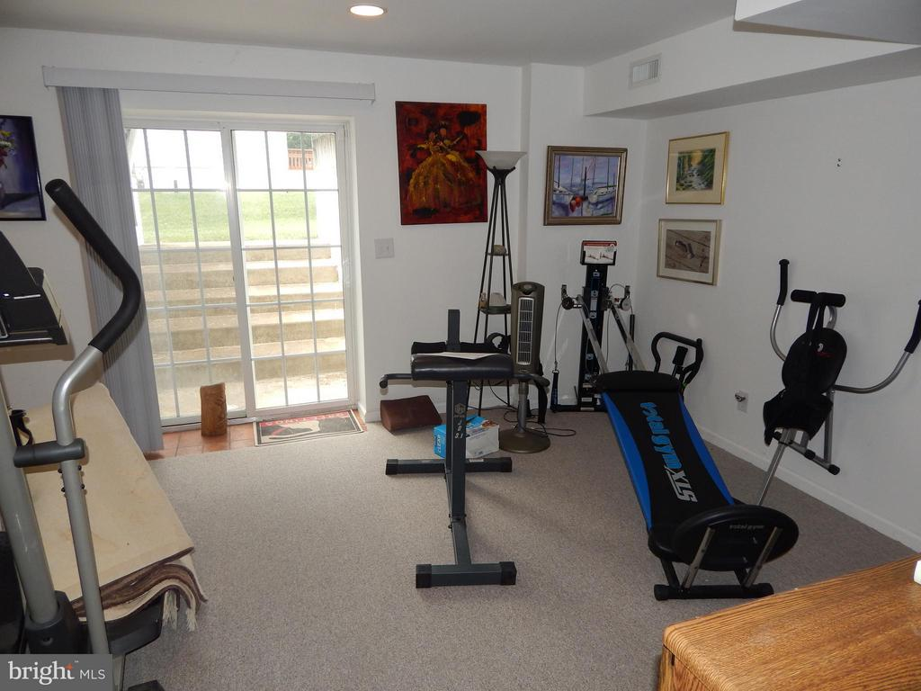 Basement Exercise Rm w/outside Exit - 6017 WATERMAN DR, FREDERICKSBURG