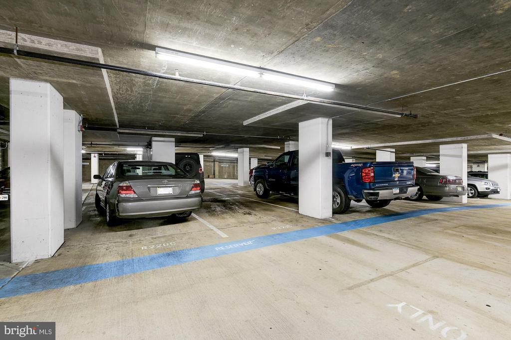 Parking Space R221 on B3 - 1201 GARFIELD ST #801, ARLINGTON
