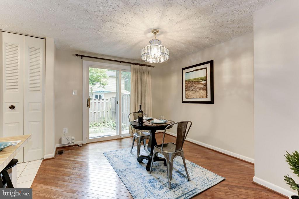 Dining Room - 6823 MONTIVIDEO SQUARE CT, FALLS CHURCH