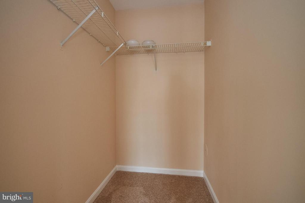 Large Walk-In Closet - 645 CONSTELLATION SQ SE #A, LEESBURG