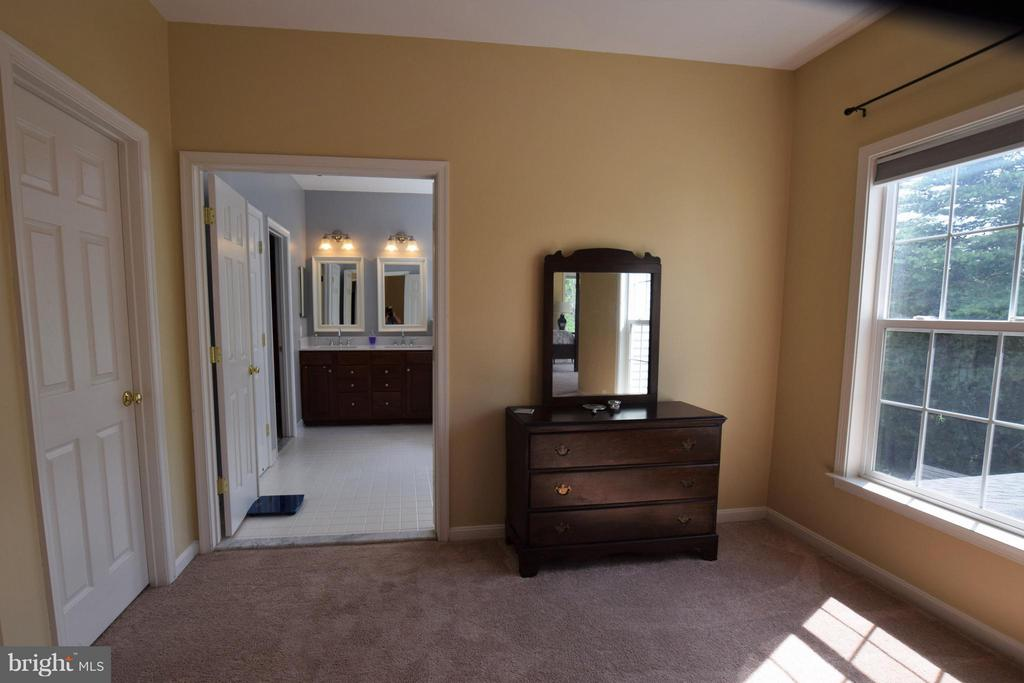 Sitting room looking to master bath - 24971 BELCOURT CASTLE DR, CHANTILLY