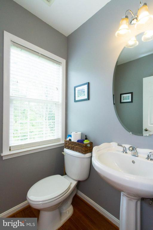 Main floor powder room - 24971 BELCOURT CASTLE DR, CHANTILLY
