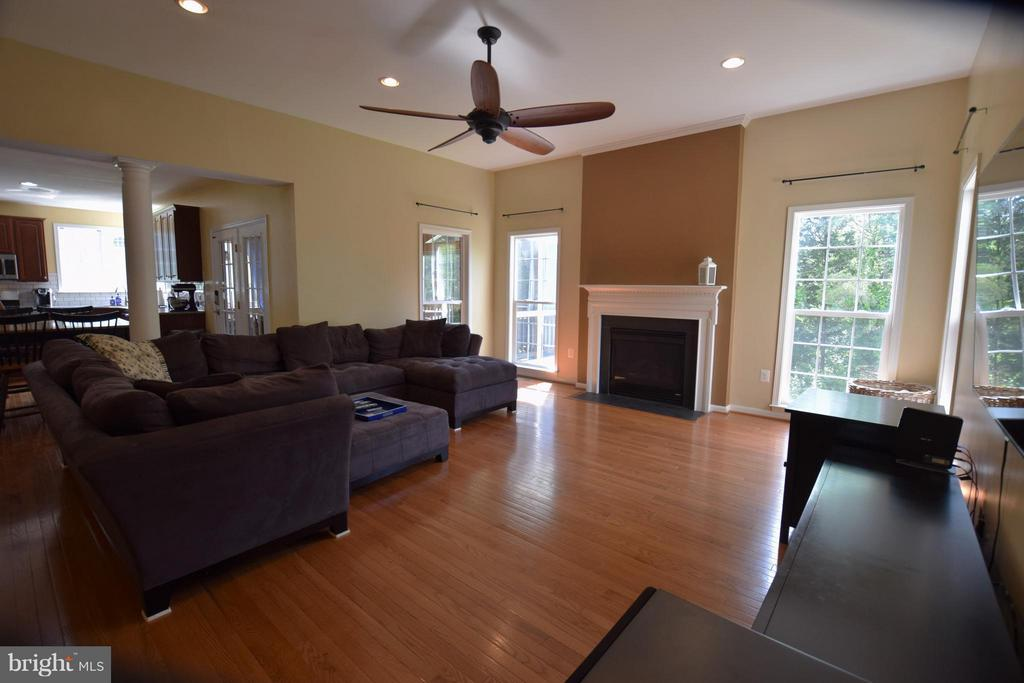 Family Room - 24971 BELCOURT CASTLE DR, CHANTILLY