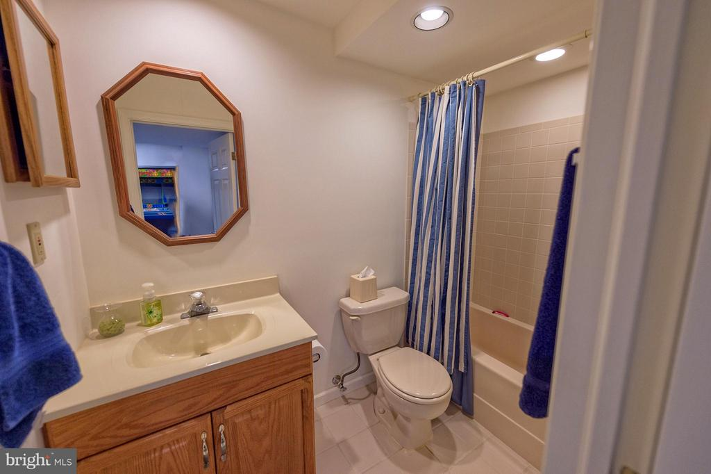 Lower level bathroom. - 43337 WAYSIDE CIR, ASHBURN