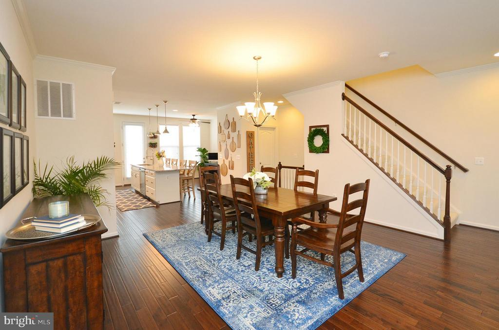 Spacious Dining Room - 42416 BENFOLD SQ, ASHBURN