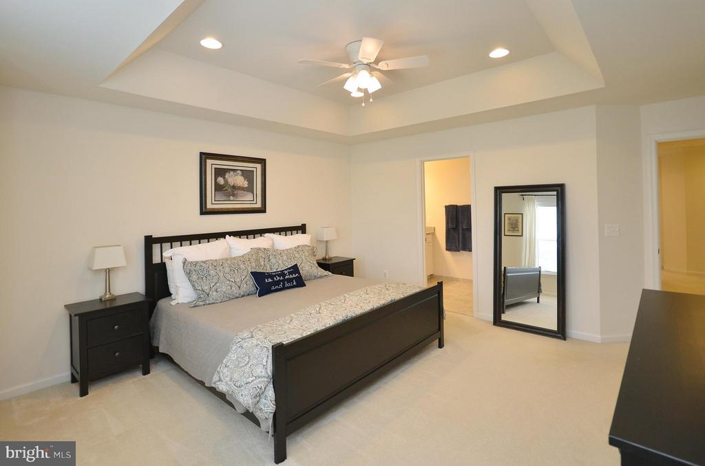 Lovely Master Bedroom w/ Dual Walk-in Closets - 42416 BENFOLD SQ, ASHBURN