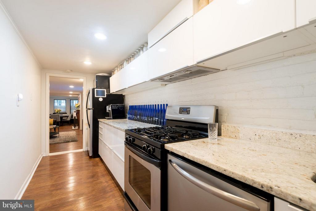 Kitchen - 1850 KALORAMA RD NW #C, WASHINGTON