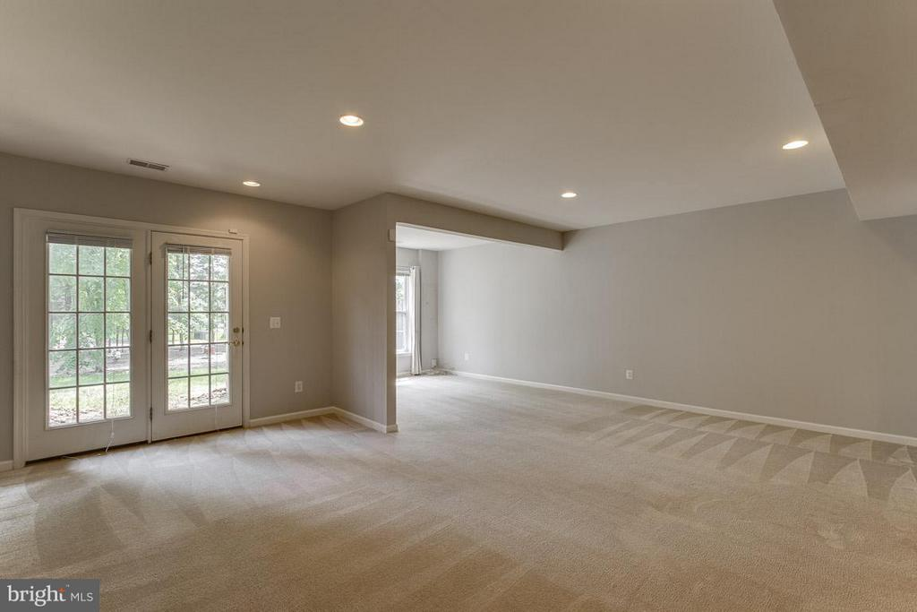 Lower level recreation room - 22060 CHELSY PAIGE SQ, ASHBURN