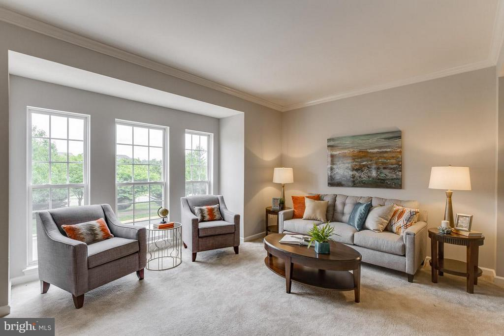 Living Room - 22060 CHELSY PAIGE SQ, ASHBURN