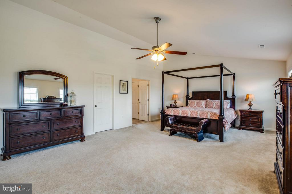 Grand Master Bedroom with Room for Sitting Area - 4 WIZARD CT, STAFFORD