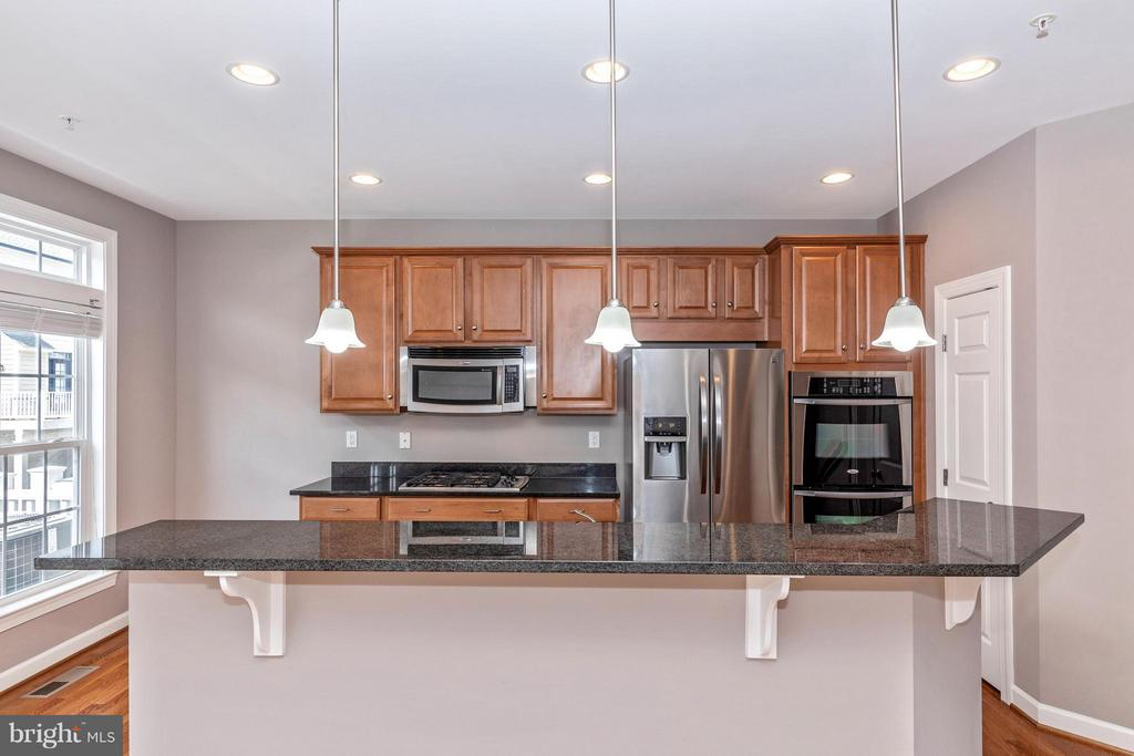 Kitchen with recessed lighting, etc. - 8937 AMELUNG ST, FREDERICK