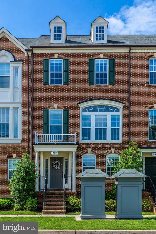 Brick Front - 8937 AMELUNG ST, FREDERICK