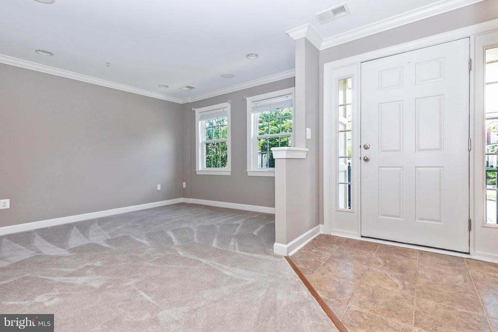 Entry Foyer and Office/Den - 8937 AMELUNG ST, FREDERICK
