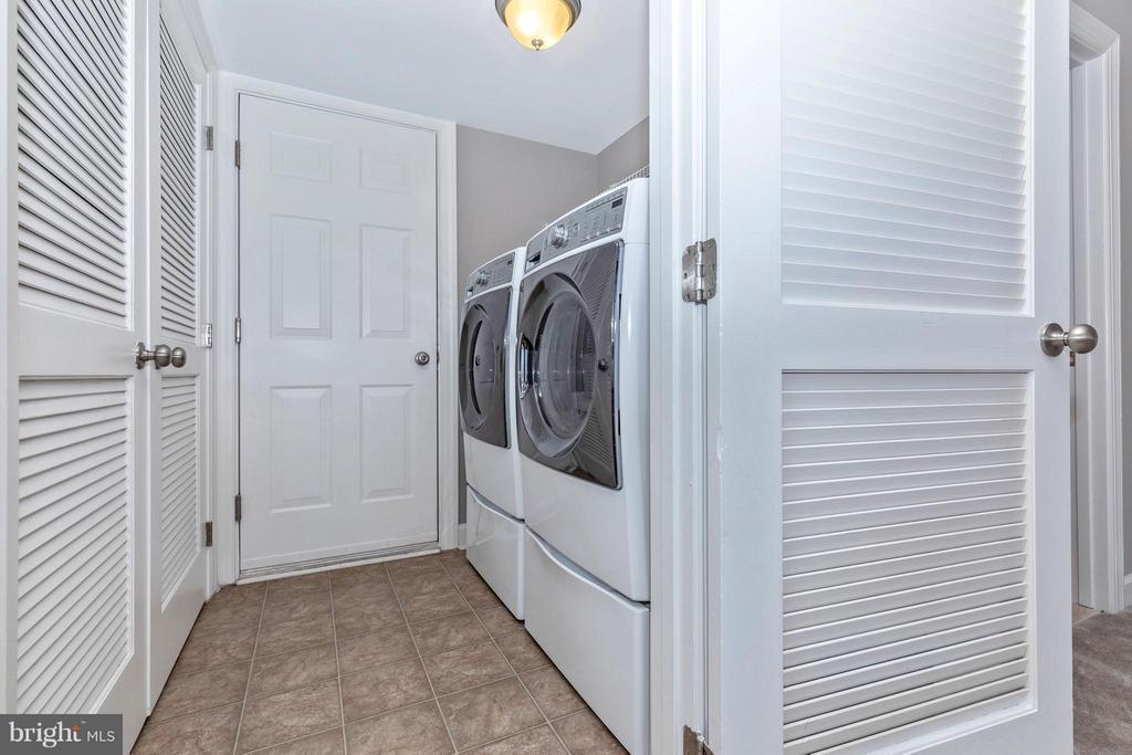 Laundry Room with Brand NEW Washer & Dryer - 8937 AMELUNG ST, FREDERICK