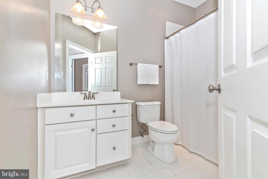 Hallway Full Bathroom - 8937 AMELUNG ST, FREDERICK