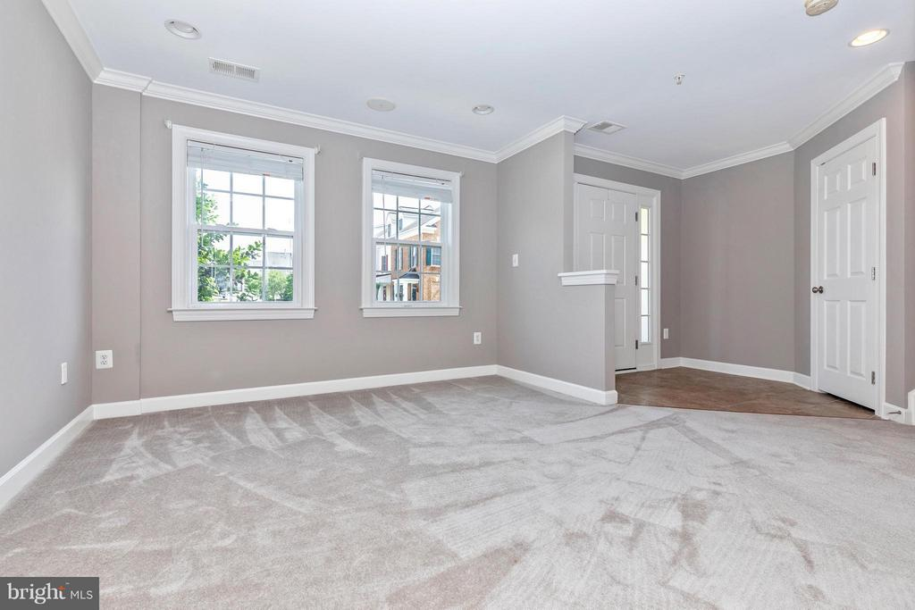 2nd View of 1st Fl. Office/Den, and Entry Foyer - 8937 AMELUNG ST, FREDERICK