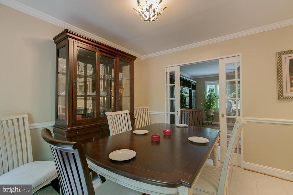 Dining Room - 9 CLOVER HILL DR, STAFFORD