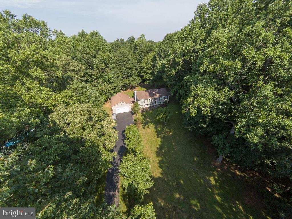 Aerial view) - 9 CLOVER HILL DR, STAFFORD