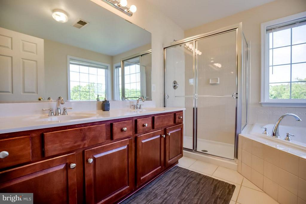 Double vanity, shower and tub - 231 HAWKS VIEW SQ SE, LEESBURG
